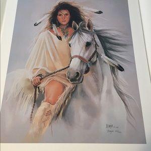 """Other - Fine art print by Maija- """"Mystic Rider"""""""
